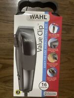WAHL Hair cutting Value Clippers 16 Piece Easy to Use Kit Super Fast Shipping
