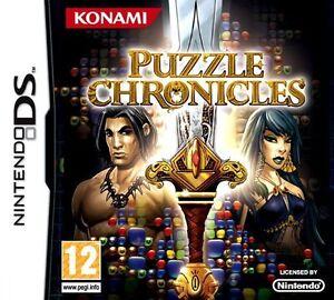 Puzzle chronicles - Konami - JEU NINTENDO DS - NEUF
