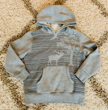 Gymboree Hoodie Sweater Size Medium (7-8) Boys Clothing Gray Pockets