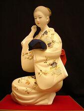 "20 1/4"" TALL ARTIST Tanaka Hiroshi JAPANESE SHOWA PERIOD HAKATA NINGYO DOLL"