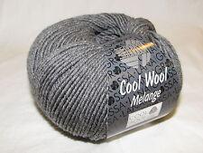 Lana Grossa Cool Wool Fb.412 dunkelgrau Meliert 50g