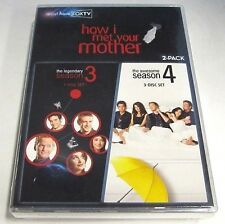 How I Met Your Mother Seasons 3 & 4 (6-Disc DVD Set) NEW SEALED