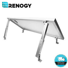Renogy Solar Panel Mounting Flat Roof Tilt Mount Aluminum Adjustable Bracket