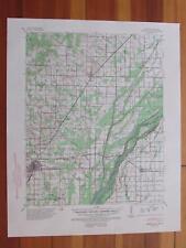 Marmaduke Arkansas 1954 Original Vintage USGS Topo Map