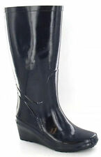 Ladies Funky Festival Wedge Wellies Rainy Snow Wellingtons