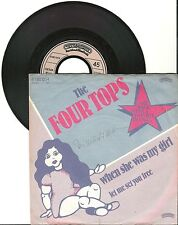 "The Four Tops, When she was my girl, G/VG, 7"" Singel, 1404"
