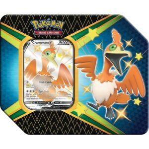 Pokémon TCG: Shining Fates V Tin - Cramorant V Trading Card Game