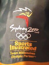 Sydney 2000 Olympics Rain Coat Jacket Hood Line 7 Size S Sports Illustrated
