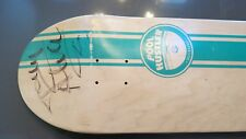 Vintage Signed Tony Alva Pool Hustler Skateboard