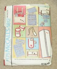 Vintage McCall's Ladies APRON Pattern 5812 one size