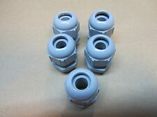 LOT OF 5   LAPP KABEL SKINTOP 53015120 GREY NYLON CABLE GLAND 6-12MM  PG 13.5