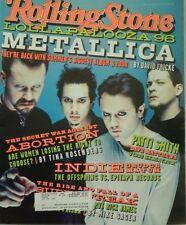 1996 Rolling Stone Magazine: Lollapalooza Metallica Summer's Biggest Album/Tour