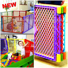 Indoor Outdoor Baby Safety Play Center Playpen Kids Panel Yard Home Pen Fun -New