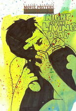 Sci-Fi Horror Movie Posters 2 Sketch Card from Jason Hughes /1