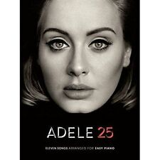 Adele: 25 (Easy Piano) by Music Sales Ltd (Paperback, 2016)