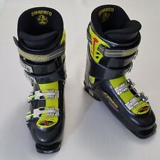 Sanmarco Ace Cyber Carving Line Alpine Downhill Ski Boots 312mm Black 9.5 Instep