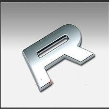 1PCS 3D Letter ABS Chrome Alphabet Car Truck StickerS Emblem Badge Decals R 1578