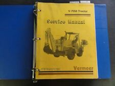 heavy equipment manuals books for vermeer trencher for sale ebay rh ebay com Jeep 3550 Cisco 3550 12