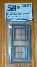 Tichy Train Group #2060 (O Scale) 2/2 Dbl Hung Windows