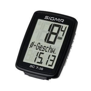 Sigma Sport Radcomputer BC 7.16 neu !