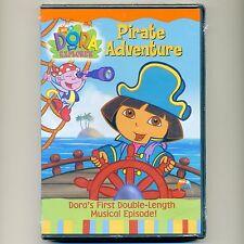 Dora the Explorer: Pirate Adventure Diego DVD Nick Jr. PBS episodes kids 95 min.