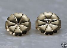 1 NEW Pair Gold Filled Extra Large 10mm Earring Backs Monster Size Heavy Duty