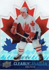 09-10 UD Clearly Canadian  Denis Potvin  /100
