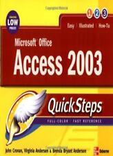 Microsoft Office Access 2003 QuickSteps (Consumer Application & Hardware - OM.