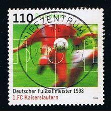 GERMANIA 1 FRANCOBOLLO CALCIO 1998 usato