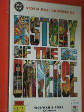 SUPERMAN- STORIA DELL'UNIVERSO DC-DI WOLFMAN-PLAY PRESS history of dc universe