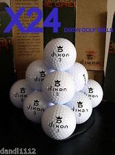 (24) Lot Dixon Dxd 4000 Eco-Friendly Green Golf Balls