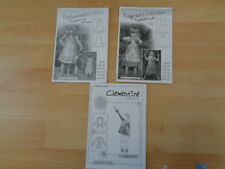 3 FARBENMIX Schnittmuster Kleid VIDA, Kleid CELINA, Tunika CLEMENTINE Gr 86 -156