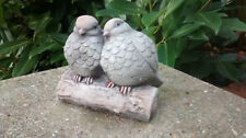 Love Birds  - Garden Ornament  - Hand Cast