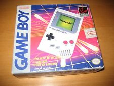 Nintendo Game Boy Original Gray Handheld System Factory Sealed Brand New