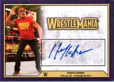 "WWE Hulk Hogan ""Hulkster"" Variant 2014 Topps Road To WrestleMania Autograph Card"