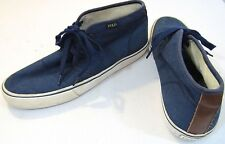 Polo Ralph Lauren Mens Maykn Lace Up Casual Chukka Fashion Sneakers Shoes 12D