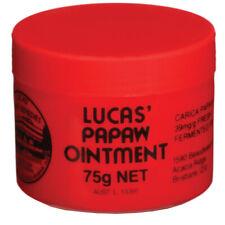 Lucas Papaw Ointment 75g 澳洲木瓜霜萬用膏 濕疹 潤膚 護唇 蚊叮蟲咬 皮膚敏感 曬傷 燙傷 傷口 暗瘡 乾裂