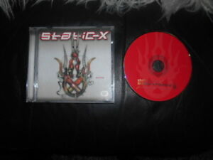 STATIC X  MACHINE  CD. 2001  , rock,METAL