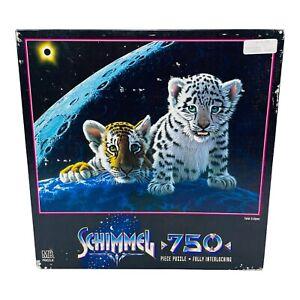 Vintage 1996 Rare Schimmel Total Eclipse Jigsaw Puzzle 750 Piece NEW SEALED