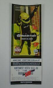 2020 Indianapolis 500 Unused August Race Ticket Northwest Vista Simon Pagenaud