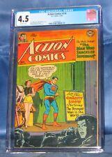 ACTION COMICS #174 CGC 4.5 DC COMICS 1952 WIN MORTIMER COVER WAYNE BORING ART