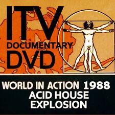 ACID HOUSE    RAVE  DVD WORLD IN ACTION DOCUMENTARY DVD 1988