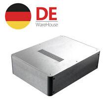 HiFi Verstärker Gehäuse DIY Aluminum Chassis Amplifier Case DAC Enclosure Silver