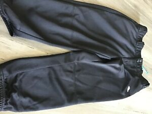 girls softball pants size xl