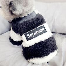 Adorable Dog Fleece Hoodie Size Xsmall Small Medium Warm Winter Coat Jumpsuit