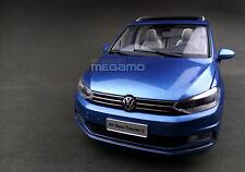 1/18 Volkswagen All New Touran 2016 Blue 330 TSI SHANGHAI VW Dealer