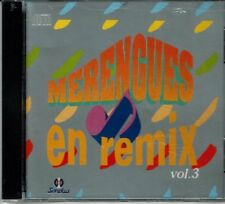 Merengues en Remix Vol 3  Los /toros Band y Otros Mas BRAND  NEW SEALED  CD