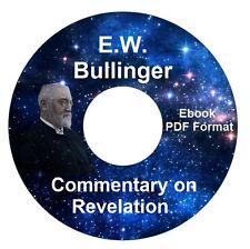 *E W Bullinger Bible Commentary Revelation CD Ebook PDF-Kindle-iPhone Compatible