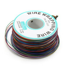 200m 0.55mm 8 Color Circuit Board Single-Core Tinned Copper Fly Wire Jumper Cabl