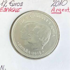 Espagne - 12 Euro 2010 en Argent - Présidence de l'Union Européenne